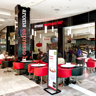 Aroma espresso bar locations - 1 garden state plaza paramus nj 07652 ...