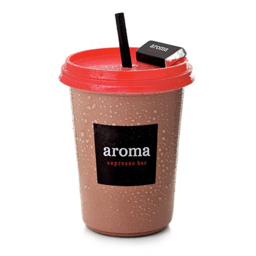 Ice Hot Chocolate - Our frozen chocolate drink is made with cocoa powder and milk.