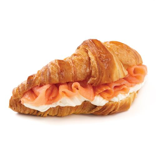 Salmon Croissant - Smoked Salmon and Cream Cheese inside a Butter Croissant