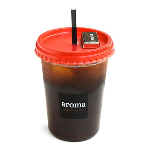 Iced Americano - hots of espresso over ice