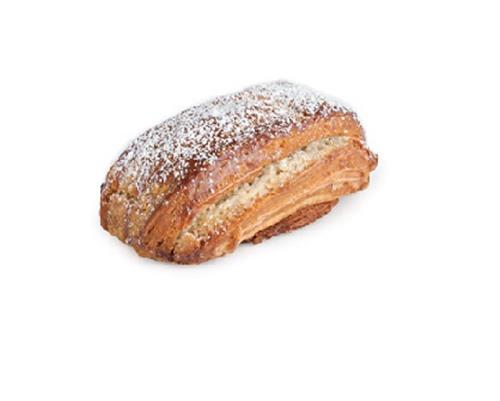 Halva Pastry - A delicious pastry filled with halva creme made from tahini. Topped with powdered sugar.