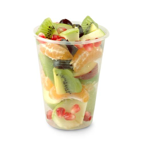 Fruit Cup - Enjoy fresh seasonal fruit in a cup.