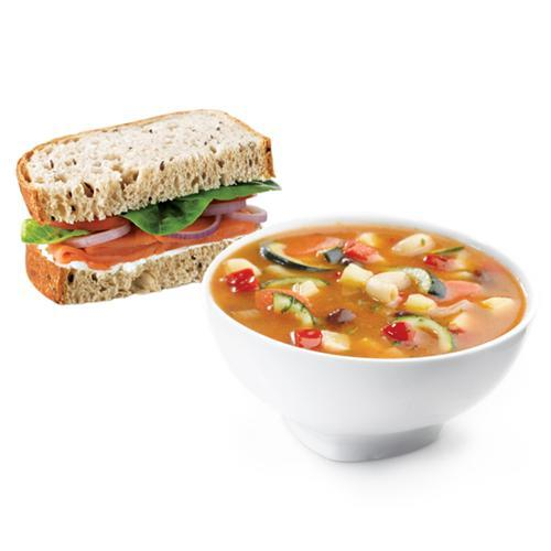 Half Sandwich + Soup Combo