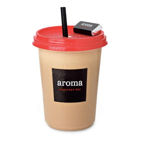 Ice Aroma® - Our house special frozen blended coffee drink. Add whip cream or a flavor shot for extra sweetness.