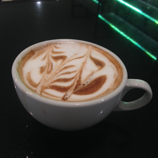 Treat yourself with our house blend cappuccino