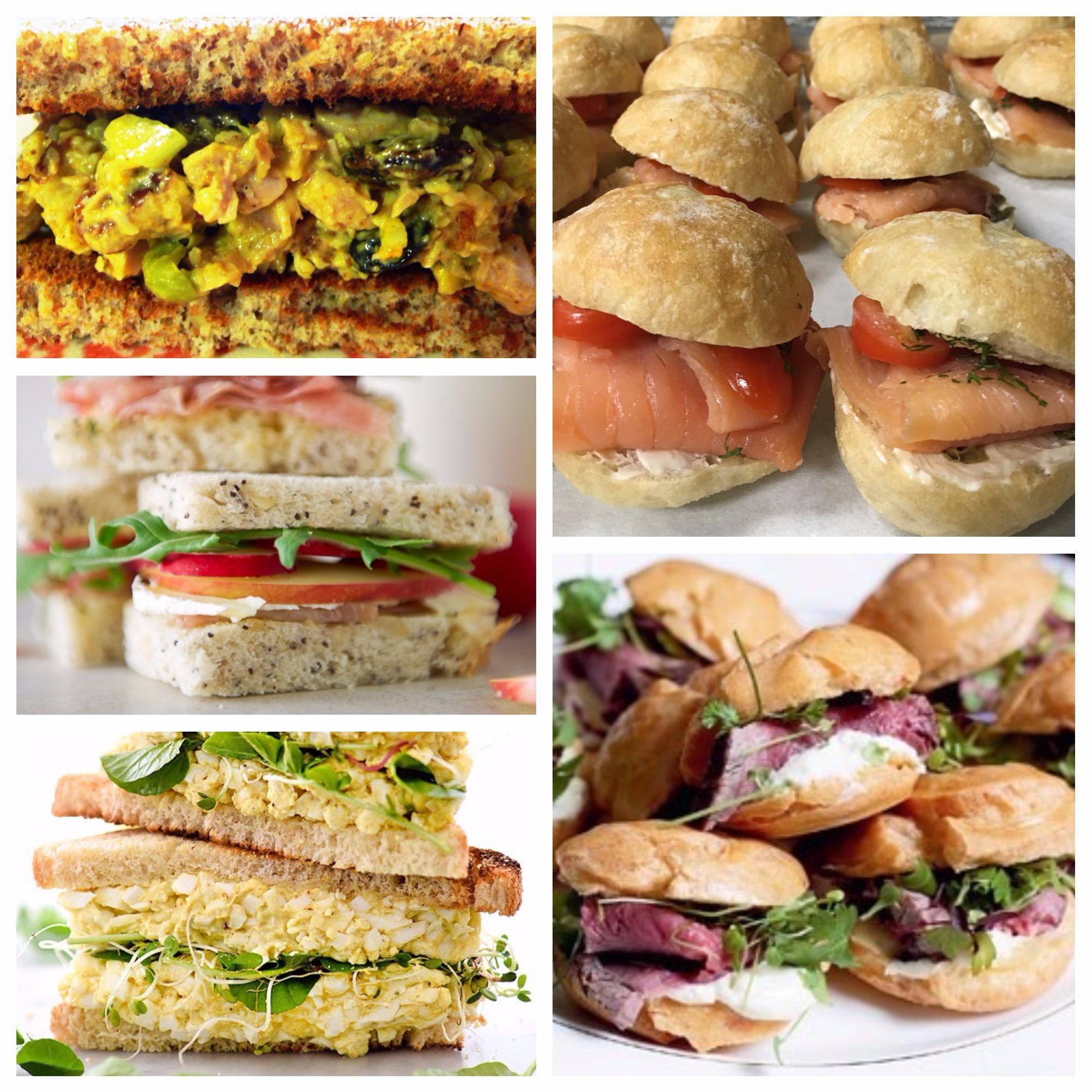 Simply Light Bites :Tea Sandwiches