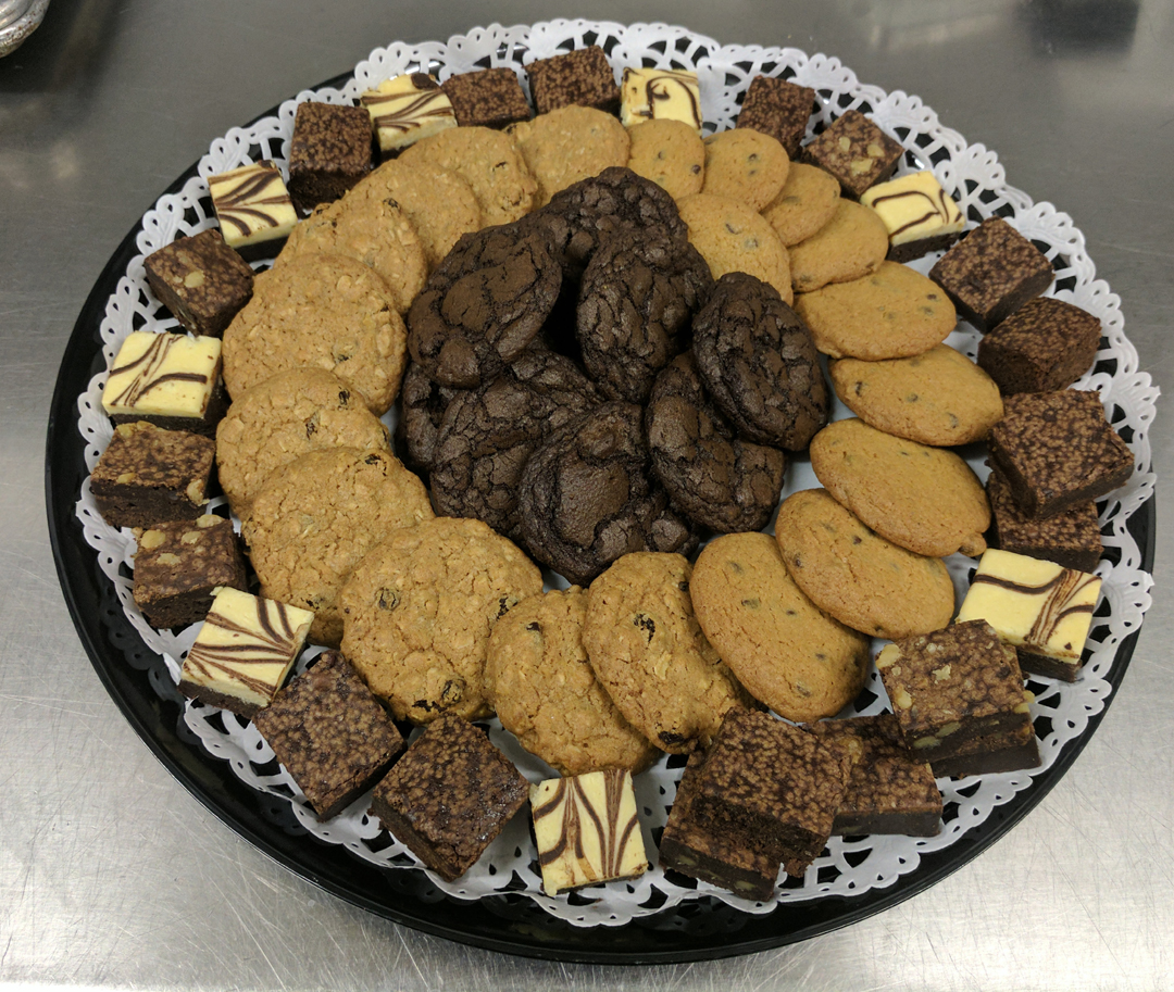 Our NYC Drop Off Catering Dessert Platter - Fresh Out Of The Oven!