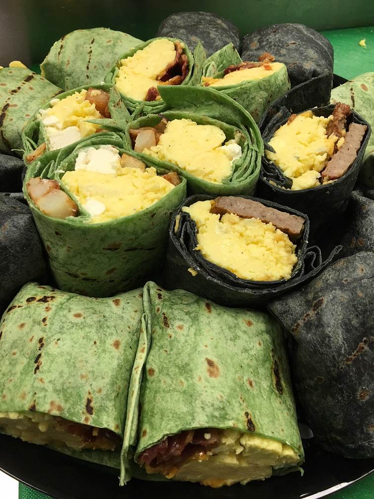 Breakfast Wraps For Your Next Meeting