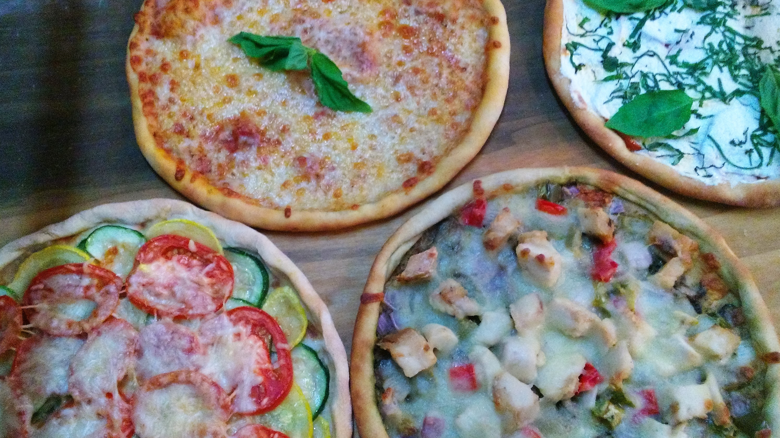Savory and Sweet Gourmet Pizza!