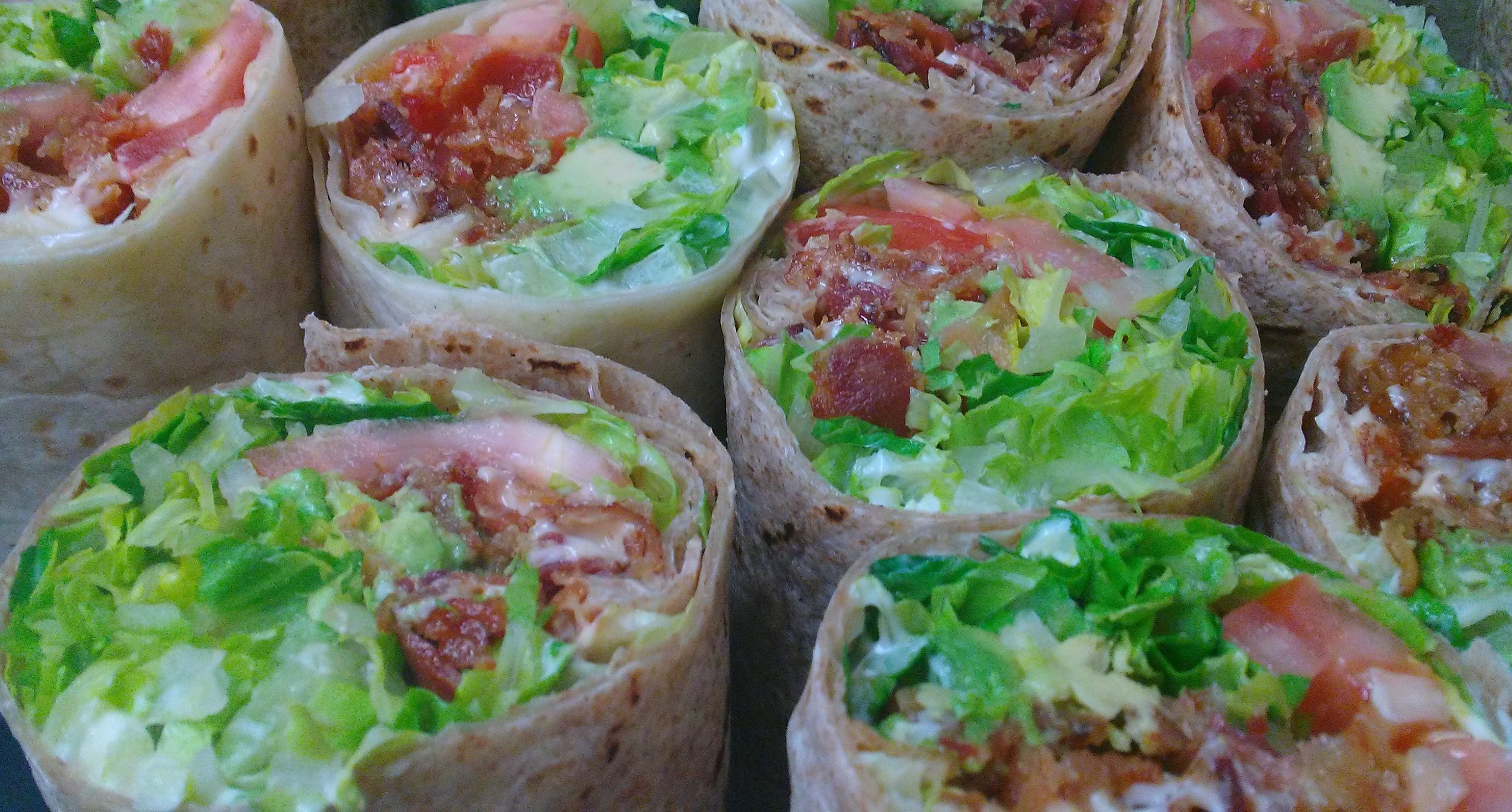 Savory Stuffed B.L.A.T. Wraps Catered to Your NYC Hudson Yards Office