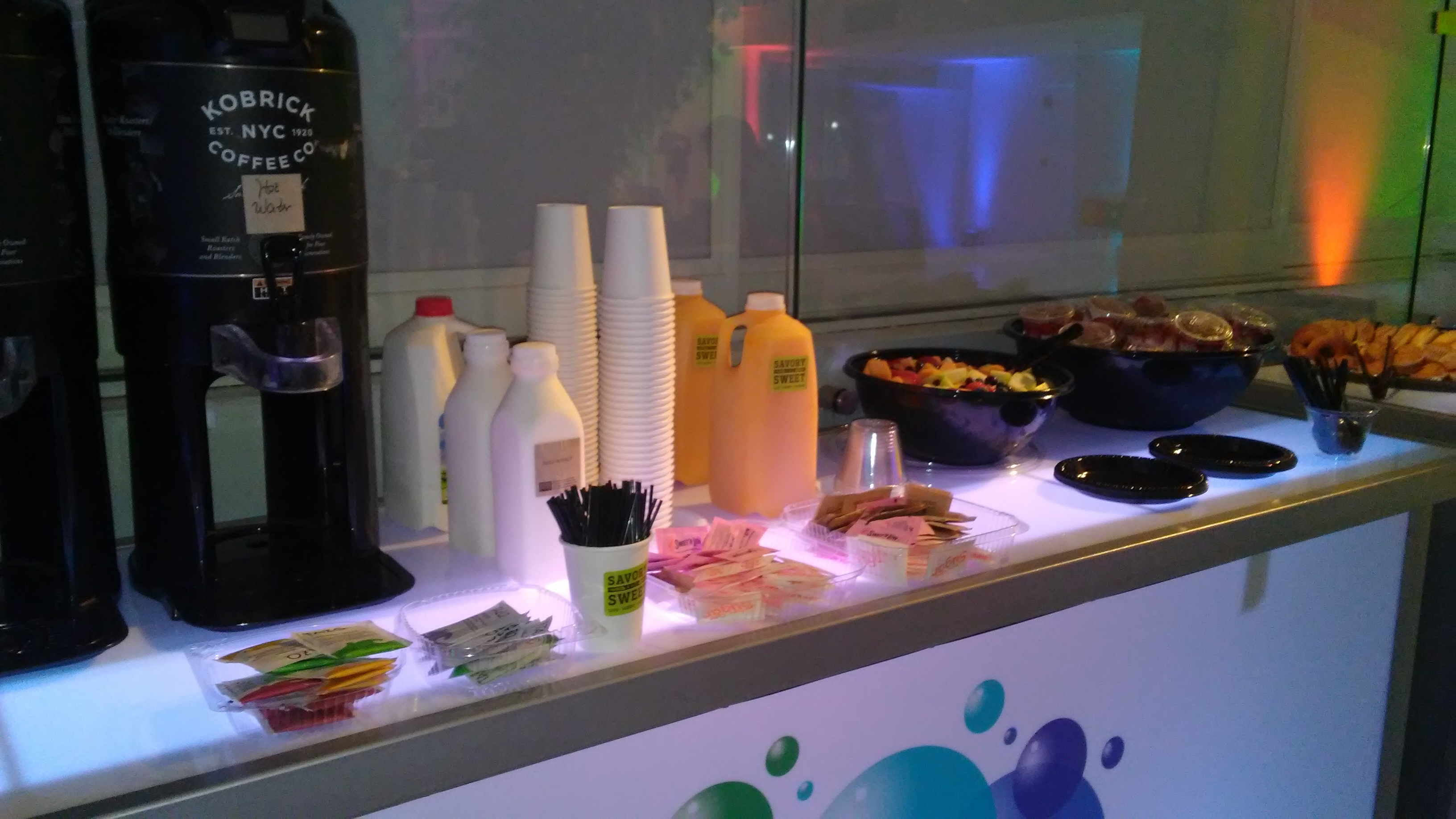 Catering Breakfast in the 404 Event Space