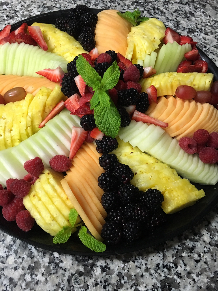 Flavorful Fruit Platter Friday NYC Midtown West