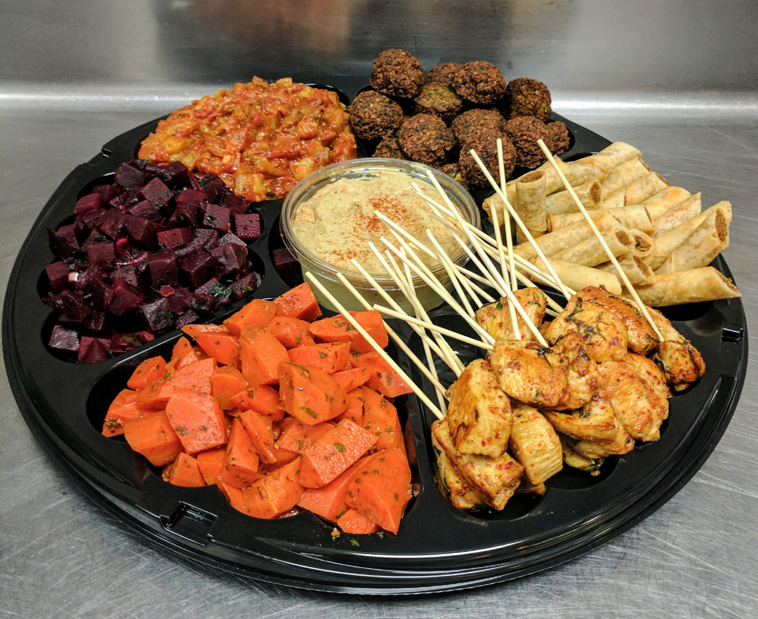 Our Mediterranean Event Platter Perfected...