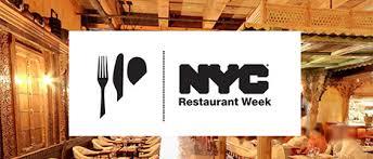 NYC Restaurant Week: Summer 2017