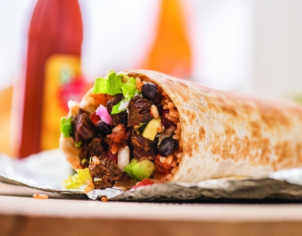 Healthful hacks for Cinco de Mayo: Burrito Platters taco about an office party!