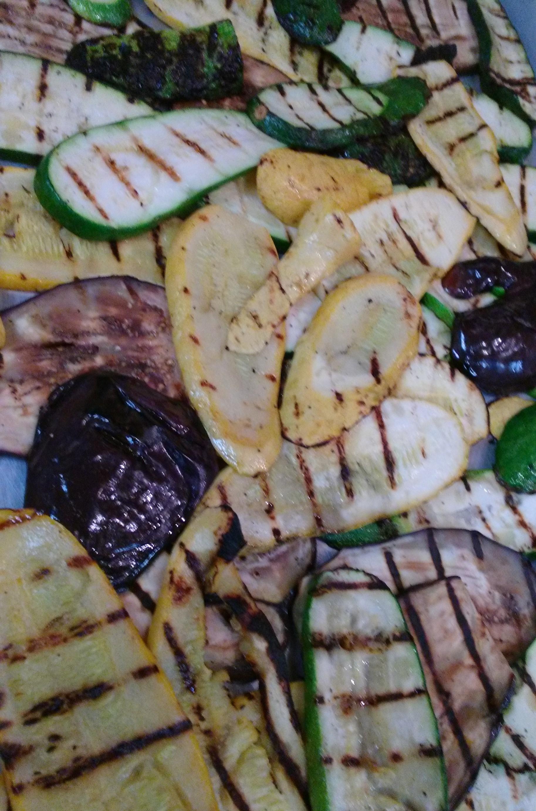 Grilled Fresh Veggies