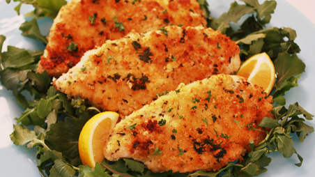Chicken Milanese - Breaded Chicken Cutlets: NYC Drop-Off Catering