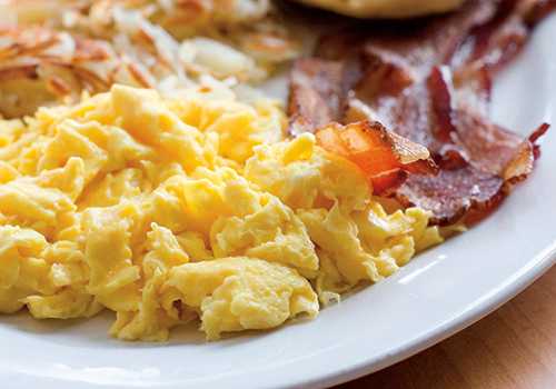 Scrambled Eggs Buffet: Catered NYC Business Dining