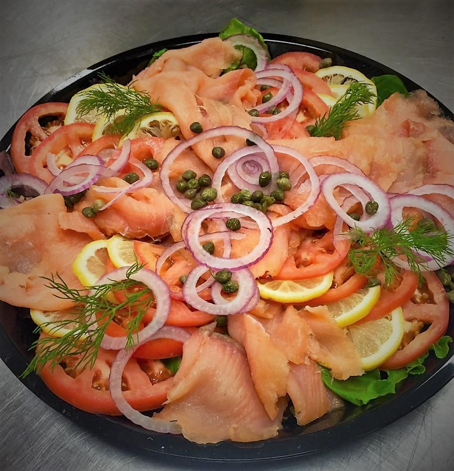 Smoked Norwegian Salmon & Bagel Platter