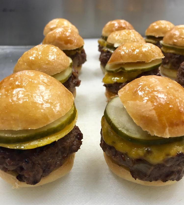 Mini Cheese Burger Sliders