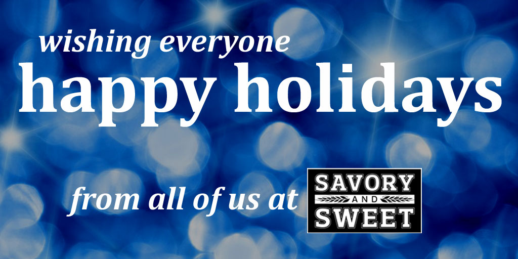 Happy Holidays from Savory and Sweet NYC!